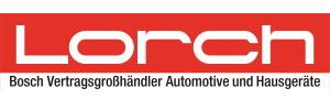 Lorch Logo Bosch Vertragsgroßhändler Automotive und Hausgeräte